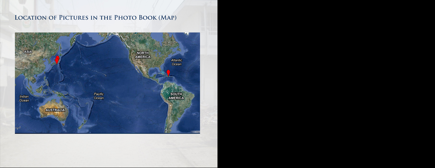 Location of Pictures in the Book