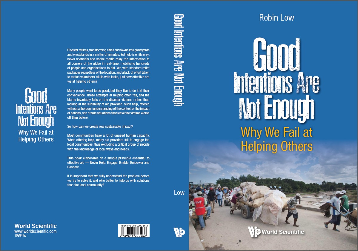 Good Intentions are Not Enough book cover